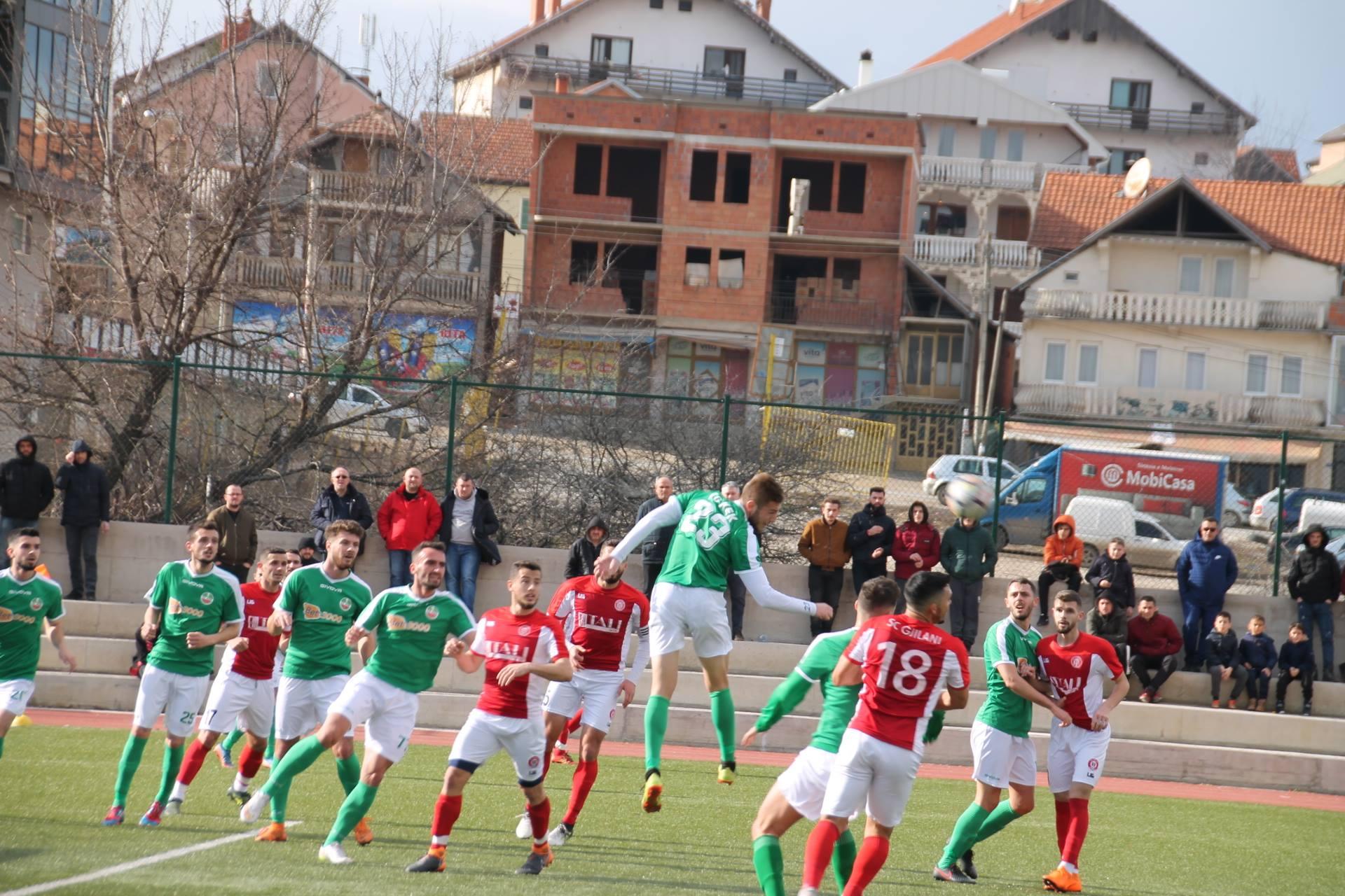 Miqësore pa gola në Gjilan