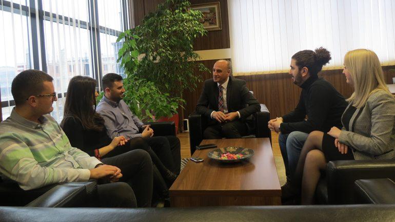 Kryeprokurori Maloku ka takuar trajnerët e projektit SMIL në Gjilan