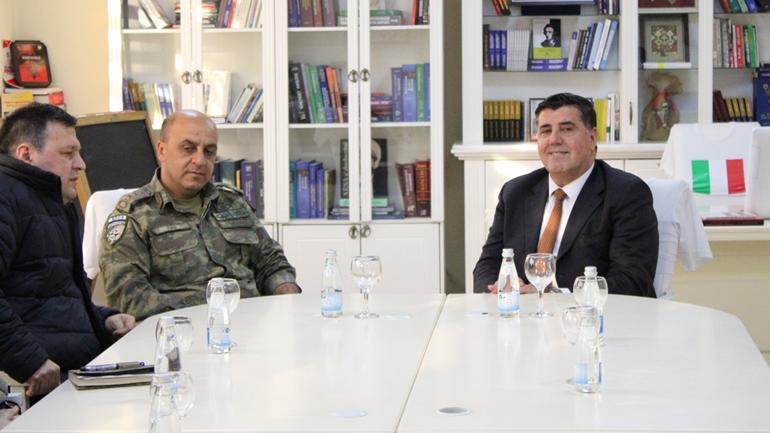 Kryetari Lutfi Haziri dhe koloneli Numan Baş të vendosur për bashkëpunim në fushën e sigurisë