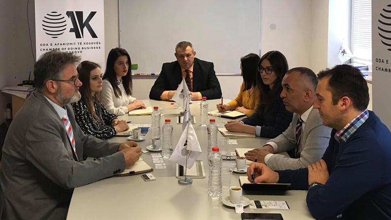 OAK nënshkruan Memorandum Bashkëpunimi me Klubin Slloven të Bizneseve