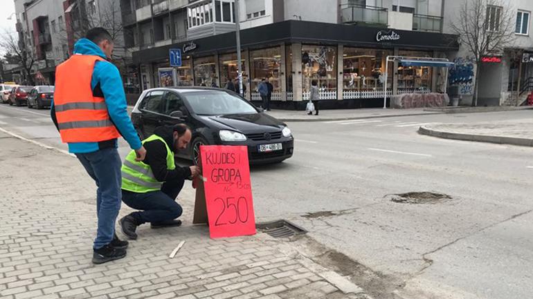 Vetëvendosje ia numëron gropat pushtetit në Gjilan
