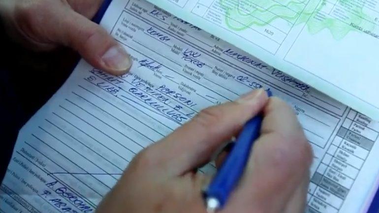 Policia: Për një javë 866 tiketa gjobitëse