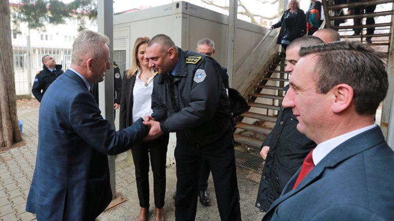 Drejtori i Përgjithshëm i Policisë së Kosovës vizitoi DRP në Veri të Mitrovicës