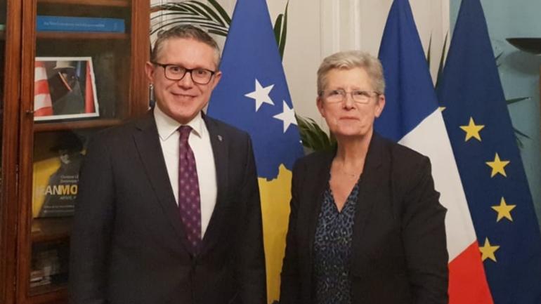 Kosova dhe Franca avancojnë partneritetin për siguri dhe integrimet euro-atlantike