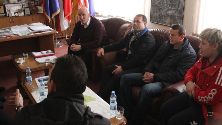 Kryetari i Vitisë priti në takim kryetarin e Federatës së Sportit shkollor