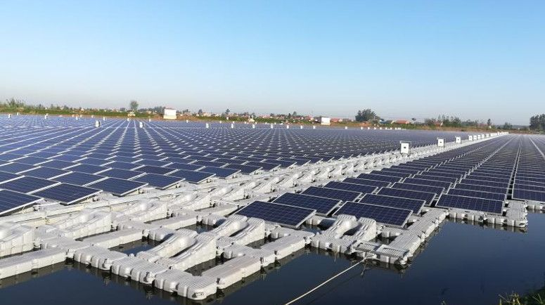 Objekti më i madh lundrues i energjisë solare ndërtohet në Kinë