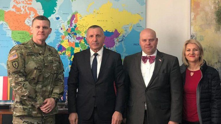 Përfaqësues të ambasadës së SHBA-së kanë qëndruar për vizitë në Bujanoc
