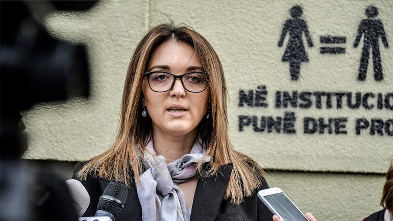 Vetëvendosje me aksion simbolik për ditën ndërkombëtare të gruas