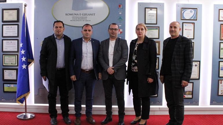 Komuna e Gjilanit dhe Ministria e Tregtisë konfirmojnë bashkëpunimin për zonën ekonomike