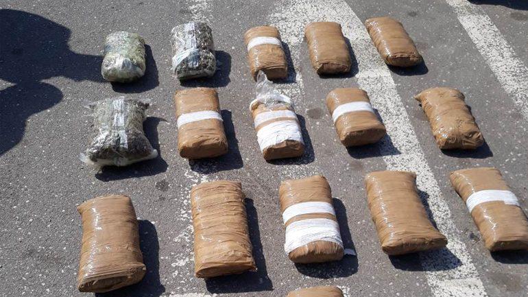 Arrestohen dy persona, u gjendet në veturë marihuanë