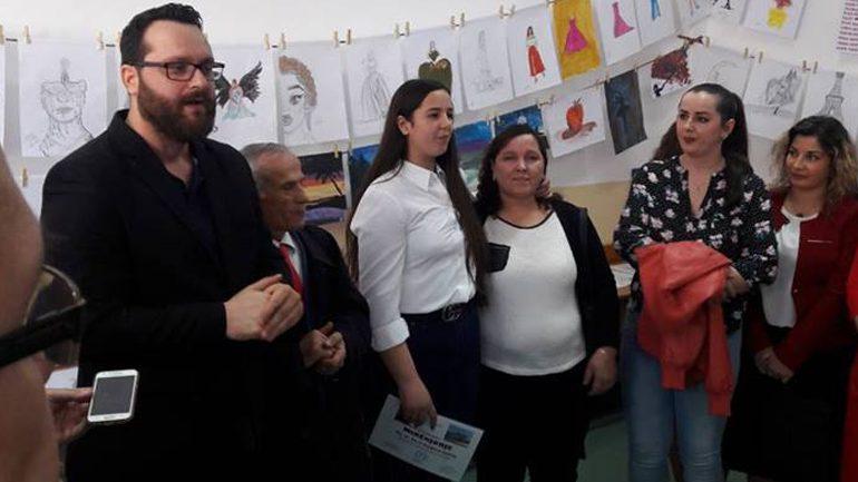Nxënësja Besjana Sadriu me ekspozitë personale