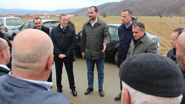 Gjashtë fshatra të Kamenicës përfituese të projektit për furnizim me ujë të pijes