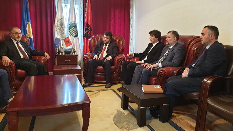 Këshilltari për çështje fetare në ambasadën e Turqisë vizitoi Këshillin e Bashkësisë Islame në Gjilan
