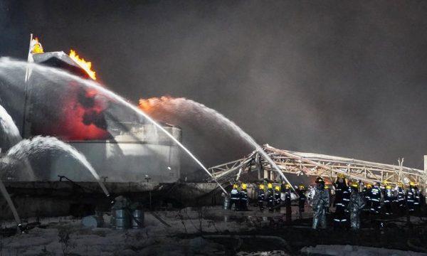 Shpërthim i fuqishëm në Kinë, 47 të vdekur dhe mbi 600 të lënduar
