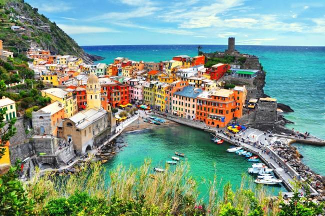 Rrugët shumëngjyrëshe të Evropës, arkitekturë kreative