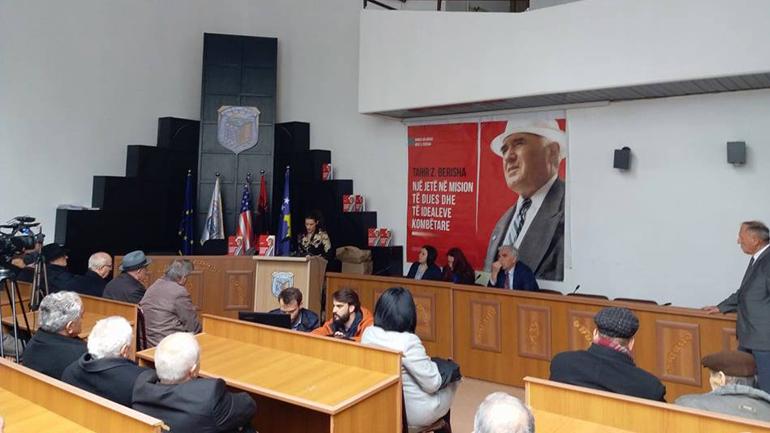 """Në Viti u promovua vepra monografike """"Tahir Berisha, një jetë në mision të dijes dhe të idealeve kombëtare"""""""