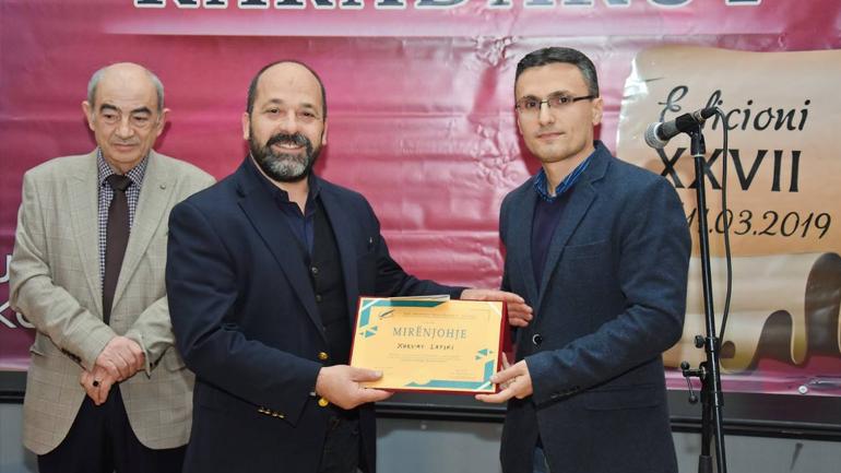 """Çmimi i parë """"Fadil Bekteshi"""" i ndahet poetit Xhevat Latifi me poezinë """"Triptik për Kumanovën"""""""