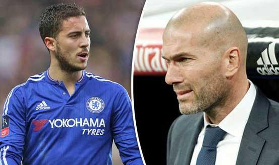 Aktivizohet Zidane, 115 milionë euro për Hazard