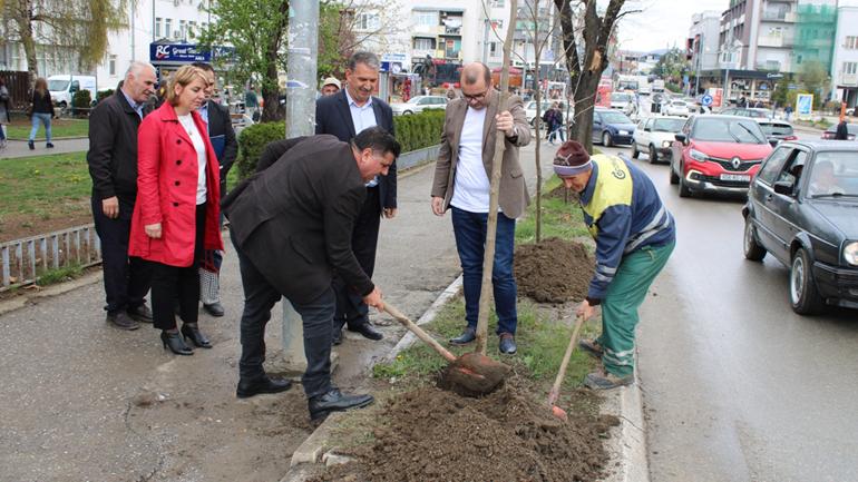 Në 20-vjetorin e rënies së Agim Ramadanit, në Gjilan mbillen drunj dekorativ