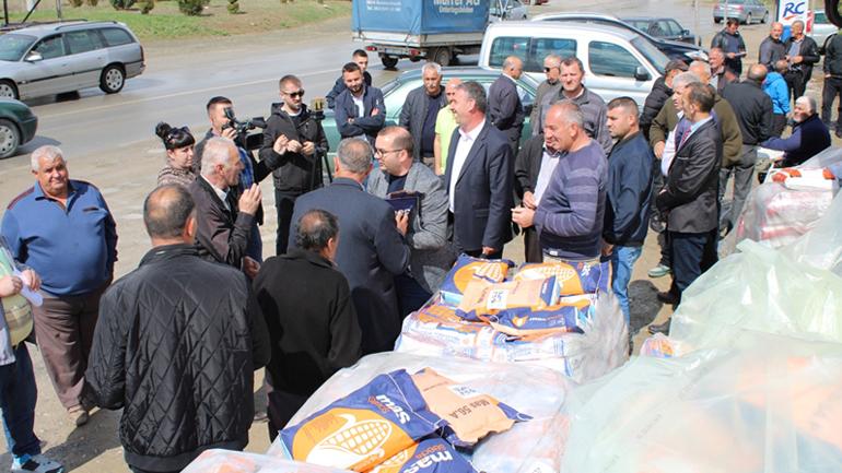 Gjilani furnizon me farë misri për mbjelljet pranverore, 572 fermerë aplikues