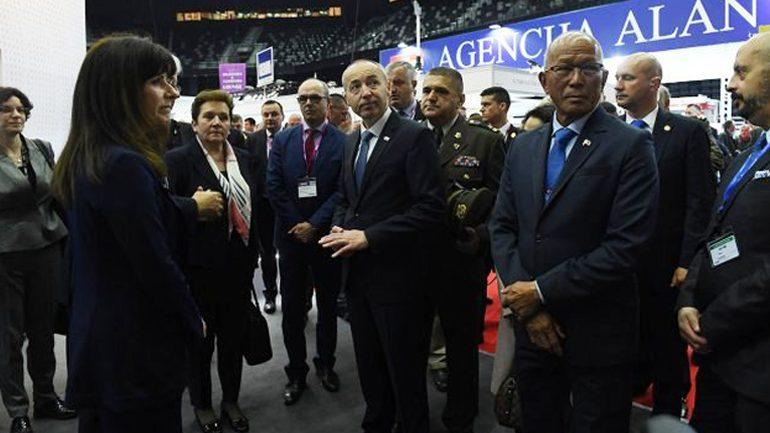 Ministri i Mbrojtjes dhe komandanti i ushtrisë po qëndrojnë për vizitë zyrtare në Kroaci