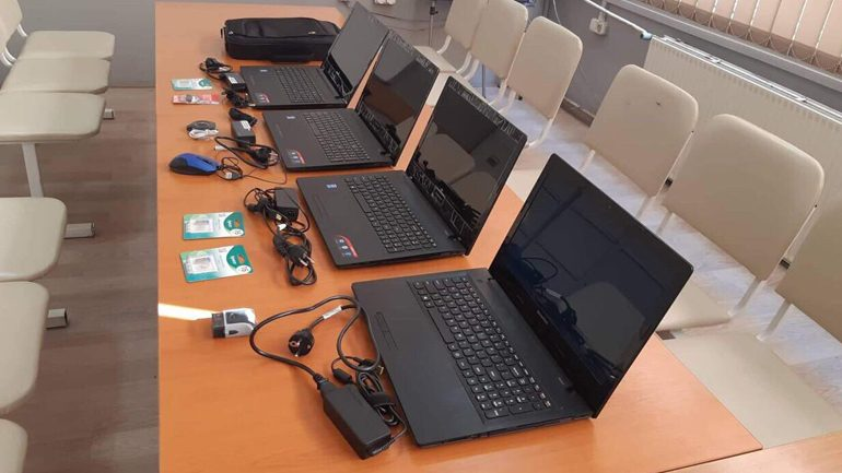 Kapen të dyshuarit për vjedhje në Universitetin e Gjilanit