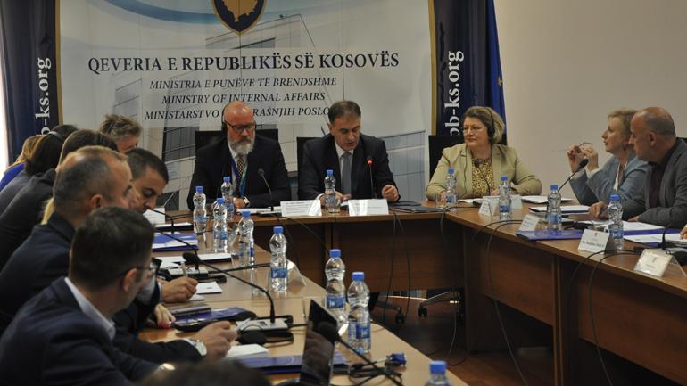 MPB mbajti takimin koordinues për Planin e Veprimit të Udhërrëfyesit rreth AVL-ve