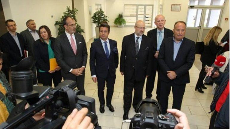 Përfaqësues të OSBE-së takime në Bujanoc edhe për arsimin shqip