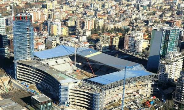 """UEFA: """"Arena Kombëtare"""" s'është gati, Shqipëria do të luajë në tjetër stadium"""