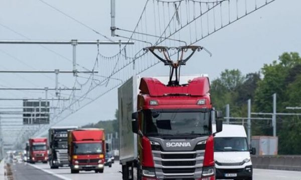 Gjermania teston kamionët e parë elektrik