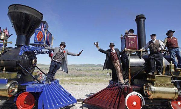 Amerika shënon 150-vjetorin e hekurudhës historike