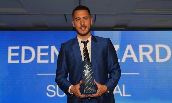 Hazard hyn në histori të klubit, fiton het-trik të çmimeve