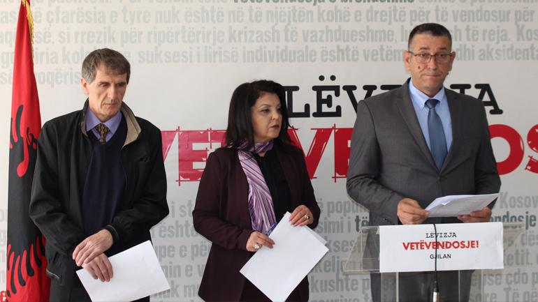 Vetëvendosje në Gjilan flet për manipulime në fushën e arsimit