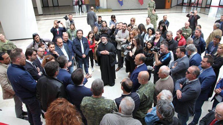Komuniteti arbëresh nga Sicilia viziton Ministrinë e Mbrojtjes dhe Ushtrinë