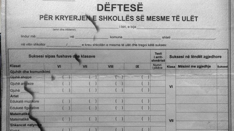 Me shkas, dëftesat: A po e paraqesin Kosovën si pjesë të Serbisë?!