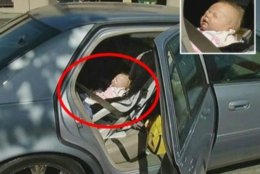 E pazakontë, çifti i ri gjerman harron foshnjën në taksi