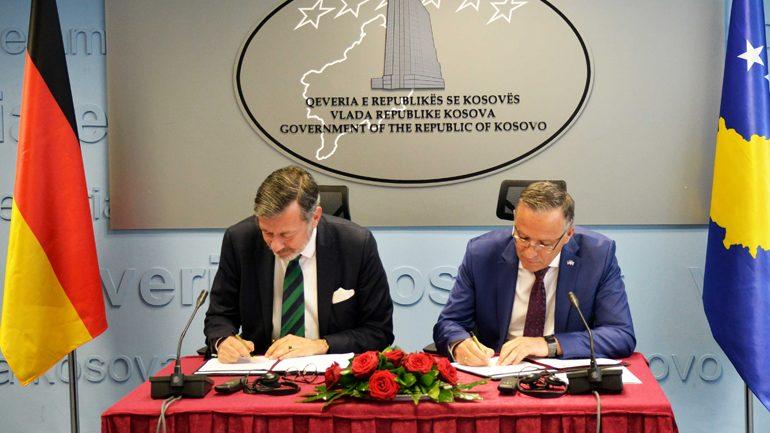 Gjermania mbështet Kosovën me 2 milionë euro për Qeverisjen e Mirë Financiare