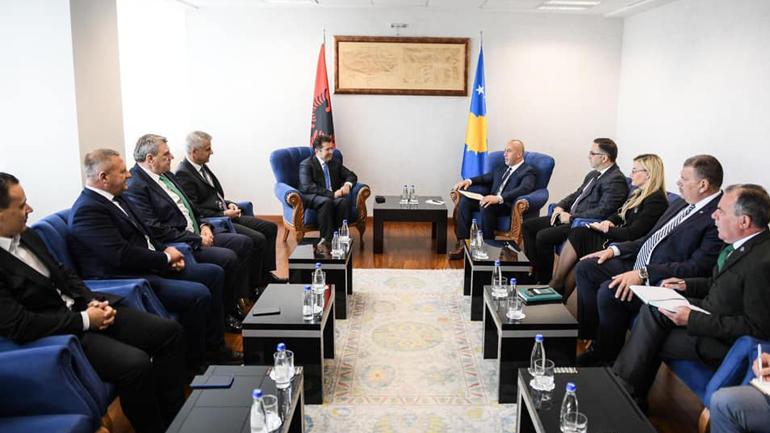 Haradinaj: Dialogu ndërmjet partive politike të Kosovës me ato të Shqipërisë është gjithnjë i hapur