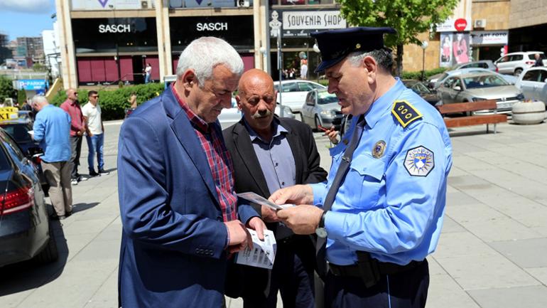 """Policia e Kosovës lanson fushatën """"Të gjithë jemi këmbësorë"""""""