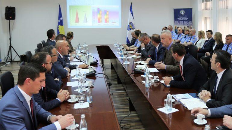 Në Policinë e Kosovës qëndroi për një vizitë zyrtare kryeministri i Republikës së Kosovës