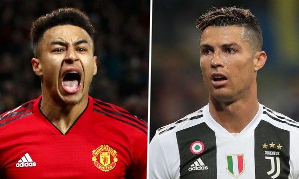 Lingard e do Ronaldon te Manchester United