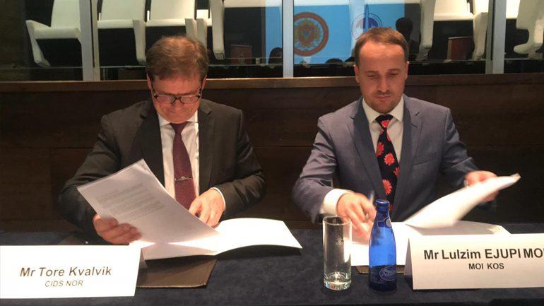 U nënshkrua protokolli për Ndërtimin e Integritetit në Sektorin e Sigurisë dhe të Mbrojtjes në Kosovë