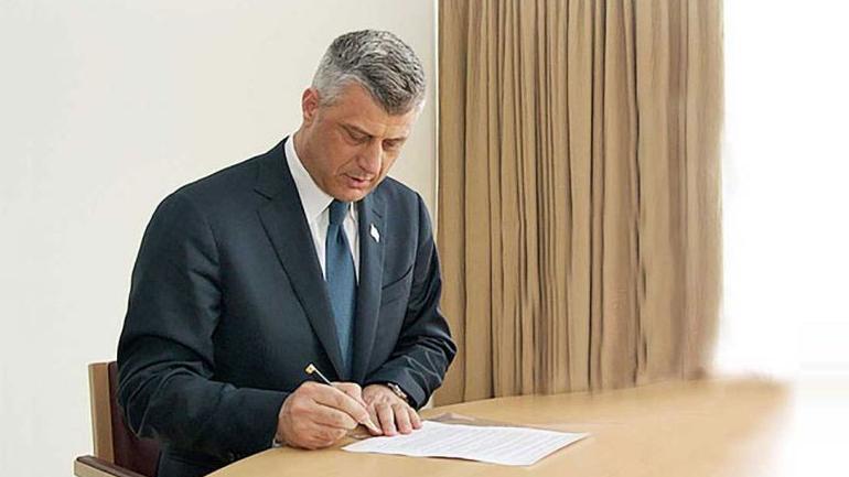 Dekretin Presidencial me emrin e kandidatit për Kryeministër, Thaçi e ka dërguar zyrtarisht në Kuvend