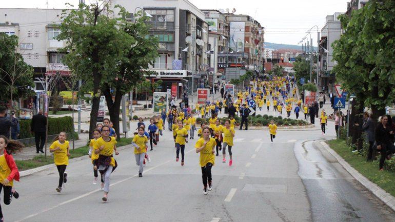 Në Gjilan shënohet Dita Olimpike me fëmijët e pavarësisë së Kosovës