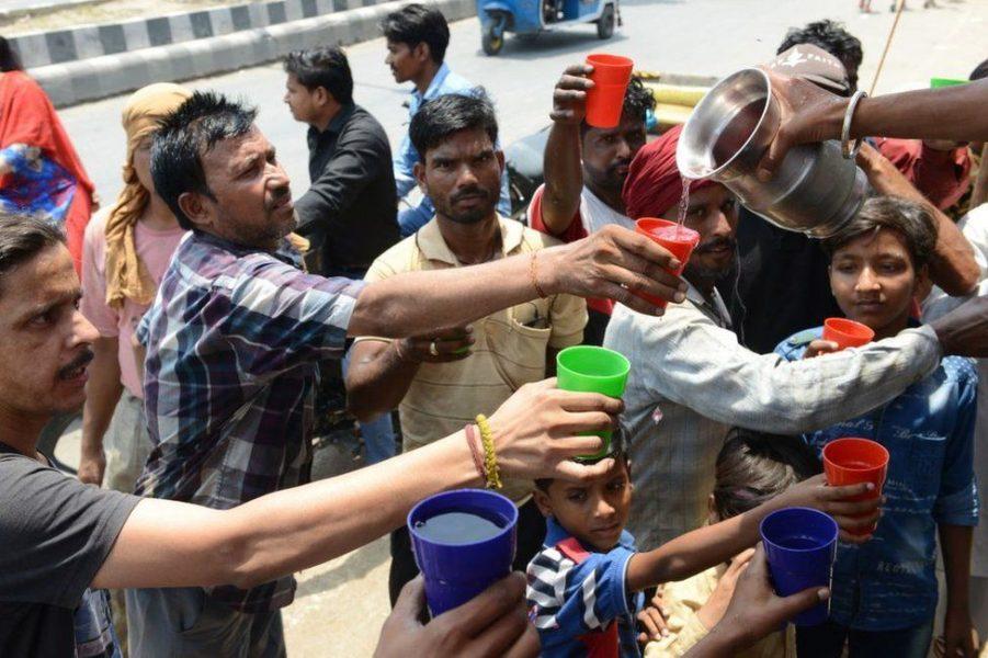Temperatura të larta në Indi, arrijnë deri  në 50 gradë!