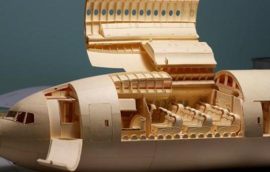 Njihuni me aeroplanin nga letra, arti nuk ka kufi