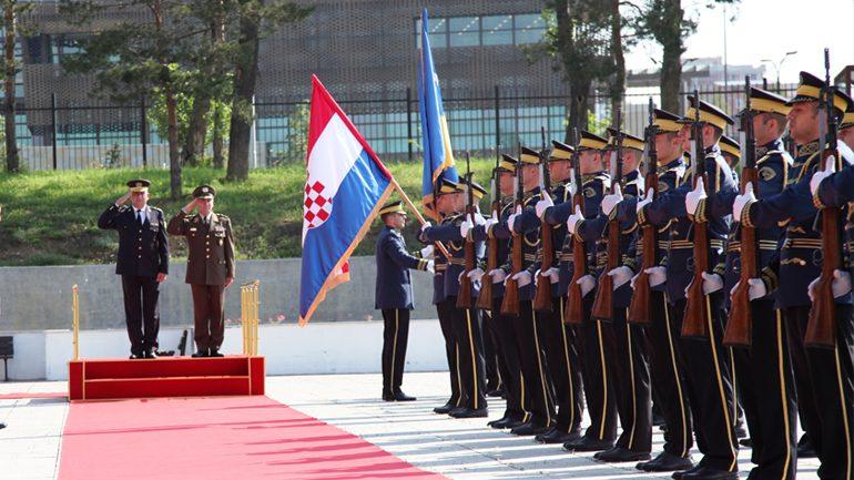 Shefi i Shtabit të Forcave të Armatosura të Kroacisë vizitoi Ministrinë e Mbrojtjes