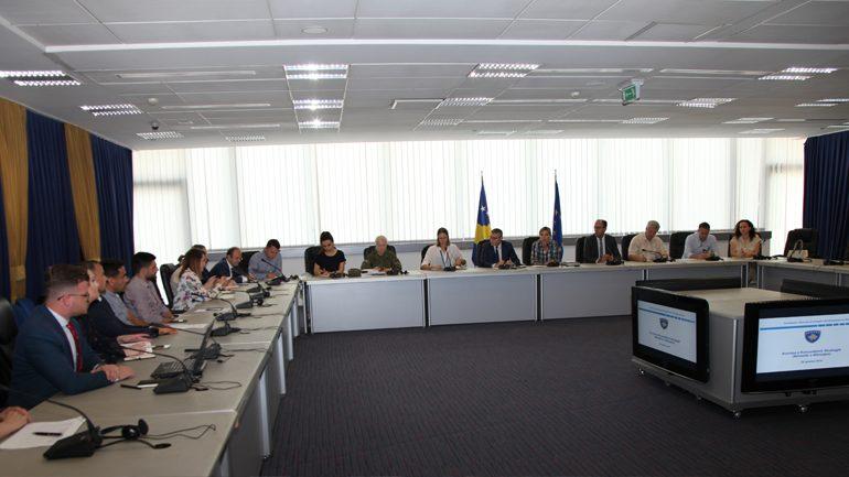 Koordinatori i Komitetit Nacional për Integrim dhe Anëtarësim në NATO prezanton Kornizën e Komunikimit Strategjik