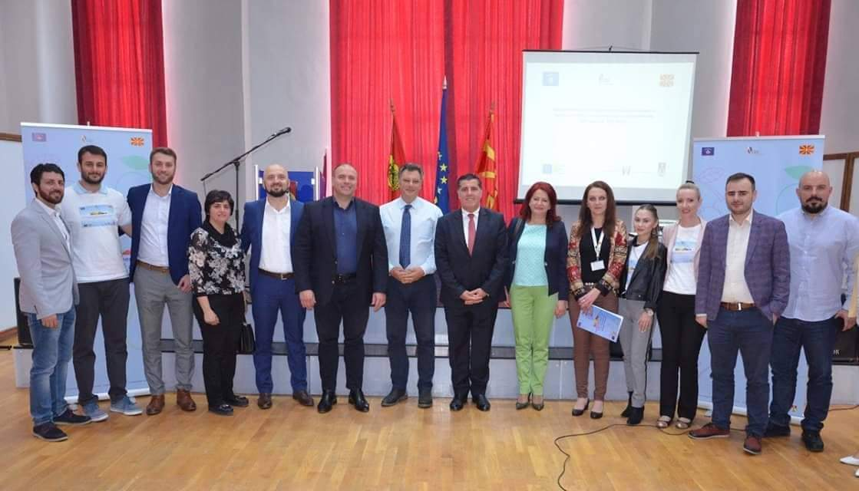 Haziri falënderon BE për mbështetjen në projektin e bashkëpunimit ndërkufitar Gjilan-Kumanovë