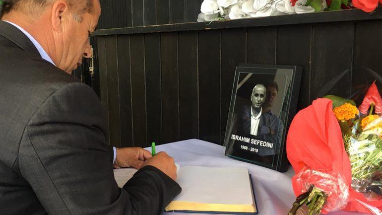 U mbajt mbledhje komemorative për gazetarin vitias, Ibrahim Sefedini